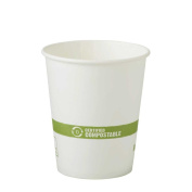 World Centric Hot Paper Cup with Ingeo Lining, 180ml -- 1000 per case.