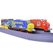Chuggington Stacktrack Duo Value Pack Die Cast Toy Set Includes Track Pack and Build Adventure by Power Brand