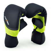 MaxxMMA Neoprene Washable Heavy Bag Gloves - Boxing Punching Training