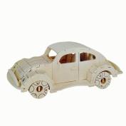 Baidecor 3D Wooden Puzzle Beatles Car Model Kits Woodcraft Jigsaw Toy
