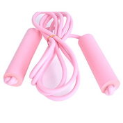 Tinksky Jump Rope Foam Handle Rope Skipping Jump Rope for Children Fitness Christmas Gift