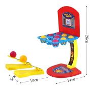 EITC Mini Basketball Shooting Game Set Basketball Shooting Tabletop Game Kids Toys Parent Child Family Fun Educational Learning