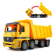 38cm Large Friction Dump Truck Construction Vehicle Toy for Kids