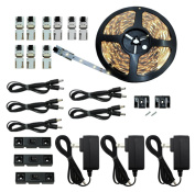 Inspired LED - Light Strip - Cut and Connect Kit - Normal Bright Pure White 4200K - 39.5 ft / 12M - Strip Lighting LED - Dimmable led