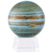 11cm Jupiter MOVA Globe with Small Crystal Base