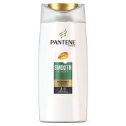 Pantene 2-in-1 Smooth and Sleek Shampoo 700 ml