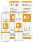 Revuele Keratin+ Hair Shampoo and Conditioner. Total Repair, shine and radiance.
