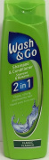 24 PACKS of Wash & Go 2in1 Shampoo & Conditioner Classic 200ml