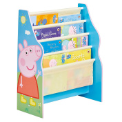 HelloHome Peppa Pig Sling Bookcase, Wood, Blue