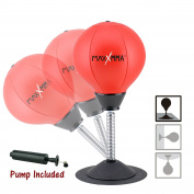 MaxxMMA Two-Way Stress Buster Desktop Punching Ball -  .