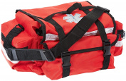 Red Emergency Paramedic First Response Trauma Bag with Refill Contents Option
