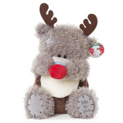 Me To You Tatty Teddy Bear Medium Plush Toy Christmas Teddy Wearing Reindeer Outfit