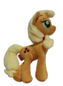 Applejack 30cm Plush Toy Soft Doll My Little Pony Friendship Female Earth Honesty Apple Hasbro Nickelodeon TV Series High Quality Plushie Brand New