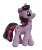 Twilight Sparkle 30cm Plush Toy Soft Doll My Little Pony Unicorn Alicorn Magic Purple Main Character Hasbro Nickelodeon TV Series High Quality Plushie Brand New