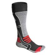F-Lite Women's Motorcycling High Socks - Black/Red