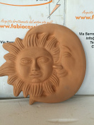 Giant Sun and Moon in Terracotta