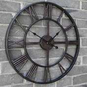 Medium 40CM Classic Vintage Cast Iron Wrought Garden Wall Mounted Clock Outdoor