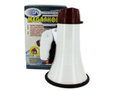bulk buys Compact Megaphone with Siren, Black/White/Red