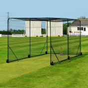 FORTRESS Mobile Cricket Cage - New 2016 Model Batting Net - [Net World Sports]