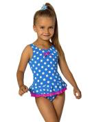 Girls Kids Swimsuit Beachwear Swimwear Childrens Swimming Costume 2-7 years L44