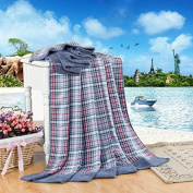 BDUK Towels Are Pure Cotton Wool Blankets King Grey