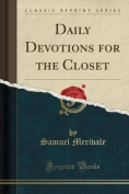 Daily Devotions for the Closet