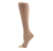 AW Style 301 Medical Weight Open Toe Knee Highs - 30-40 mmHg Beige Medium Reg Reg 301-M-BEIGE