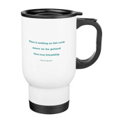 Travel Mug with Handle Unique Friendship Quote There is Nothing on this Earth Travel Mugs for Men Coffee Cup for Mom Dad Friends Christmas Presents