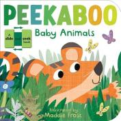 Peekaboo Baby Animals (Slide and Seek) [Board book]