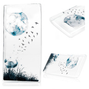 KASOS Sony Xperia X Compact 12cm Case,Coloured Printing Transparent Soft TPU Case Crystal Clear Slim Anti Slip Case Back Protector Cover for Sony Xperia X Compact