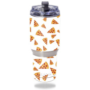 MightySkins Protective Vinyl Skin Decal for Pelican Tumbler 950ml wrap cover sticker skins Body By Pizza