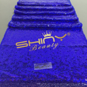 Perfectly Choice Royal Blue Sequin Table Runner, 36cm x 270cm Royal Blue Table Runner Sequin Tablecloth Overlay Wholesale Sequin Table Cloths Sequin Linens Royal Blue Sequin Table Runner