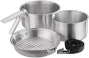 Black Crevice BCR133901 Adult Cooking Set Silver One Size