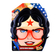 Sunstaches Officially Licenced Wonder Woman with Hair Sunglasses