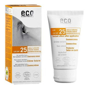 Sun Lotion SPF 25 Sea Buckthorn and Eco Cosmetics - Olive Green