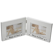 Double Baby Scan Photo Frame Baby Shower Gift