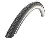 Schwalbe Road Cruiser Active Line Twin Skin K-Guard SBC Wired Tyre - White Line, 50cm x 4.4cm