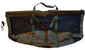UK Angling Supplies Carp Deluxe Folding Floating Carp Weigh Sling 123 x 60cm with Carry Pouch
