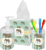 Elephant Bathroom Accessories Set