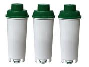 3 x CFL-950B Water filters fits Delonghi SER3017 Espresso Coffee Maker DLS C002