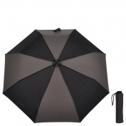 laroom 13620 - Mini Umbrella with Steel Stick, Dark Grey