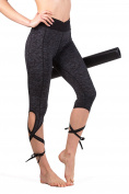 Queenie Ke Women's Yoga Pant Legging Capris String-End Workout Dance Pants
