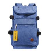 Fafada Multi-Function Vintage Canvas Rucksack School Bag Backpack Hiking Travel Military Backpack Messenger Tote Bag