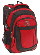 Eliox Backpack Multicolour RED