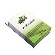 White Sage Incense Cones & Holder