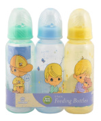 "Precious Moments ""Boys Will Be Boys"" 3-Pack Bottles - yellow/blue, one size"