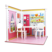 Bedroom and Kitchen Interchangeable 46cm Dollhouse Playscape