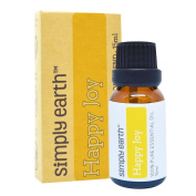 Happy Joy Essential Oil Blend by Simply Earth - 15ml, 100% Pure Therapeutic Grade