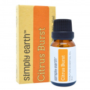 Citrus Burst Essential Oil Blend by Simply Earth - 15ml, 100% Pure Therapeutic Grade