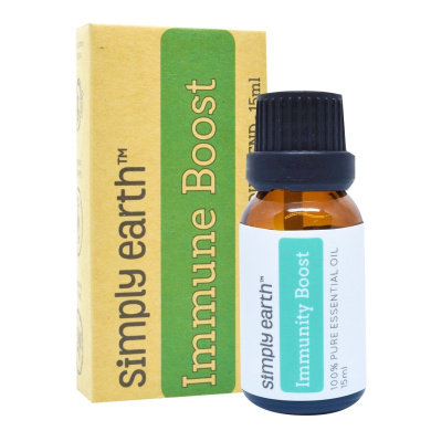 Immunity Boost Essential Oil Blend by Simply Earth - 15ml, 100% Pure Therapeutic Grade